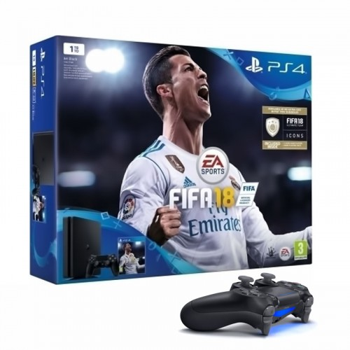 Sony Playstation 4 (PS4) Slim 1TB & Fifa 18